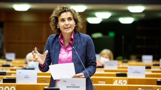 La portavoz del PP en el Parlamento Europeo, Dolors Montserrat.