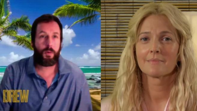 [Vídeo] Así es el 'reboot paródico' de '50 primeras citas' con Adam Sandler y Drew Barrymore