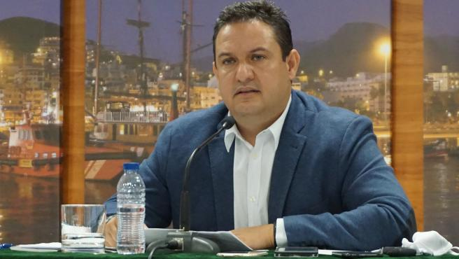 El alcalde de Arona, Juan José Mena