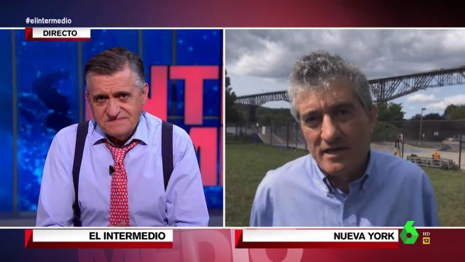 Guillermo Fesser, en 'El intermedio'.