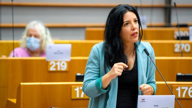 La eurodiputada de Podemos, Idoia Villanueva.