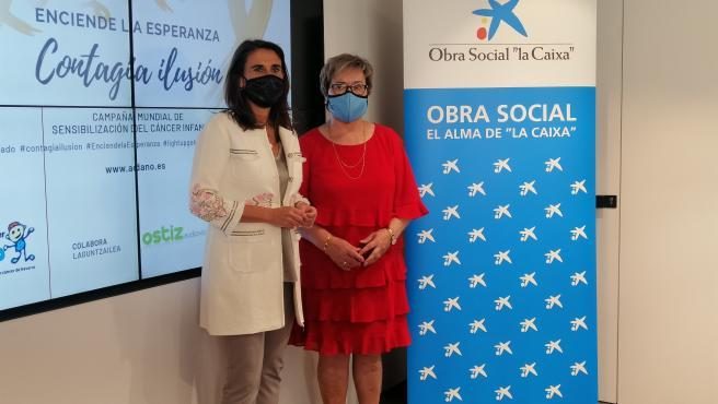 Isabel Moreno y Mercedes Almiñana
