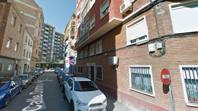 Calle Domingo Ram, donde ocurrió el suceso.