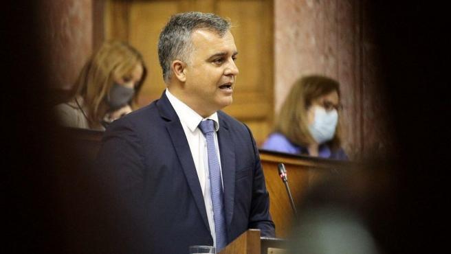 El parlamentario de Cs Javier Pareja