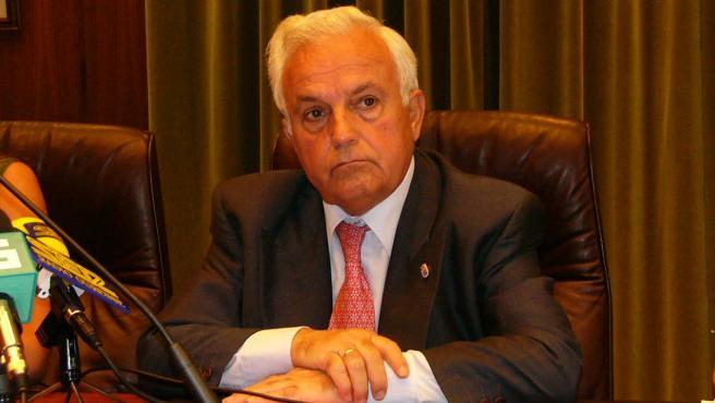 José Luis Baltar Pumar, presidente de la Diputación de Ourense