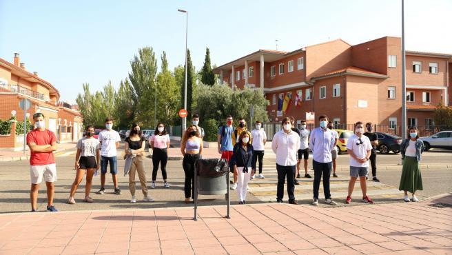 Juventudes Socialistas en CyL denuncia públicamente la situación de los alumnos de Bachillerato en el IES María Moliner de Laguna de Duero.