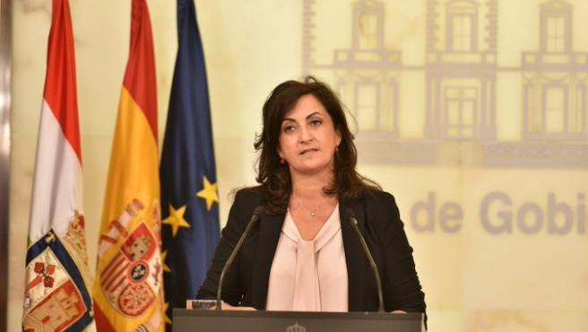 La presidenta del Gobierno riojano, Concha Andreu