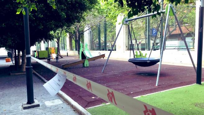 Parc de la ciutat de València durant la pandèmia de Covid-19