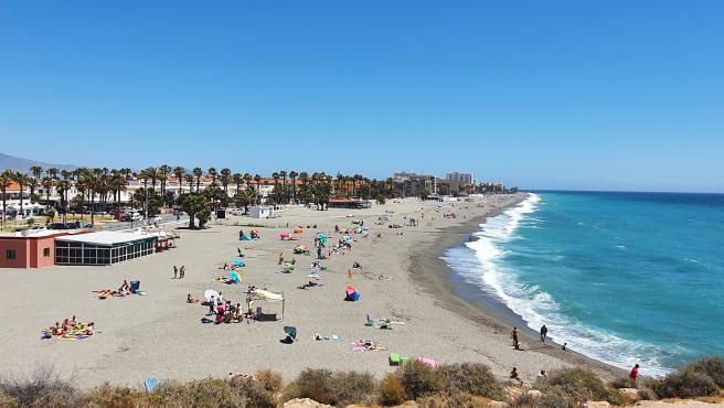 Playa en Salobreña