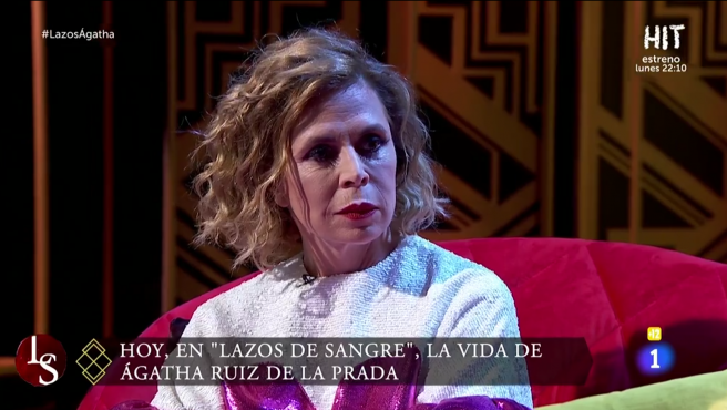Ágata Ruiz de la Prada, en 'Lazos de sangre'.