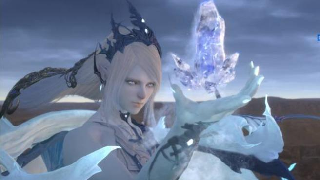 Shiva en 'Final Fantasy XVI'.