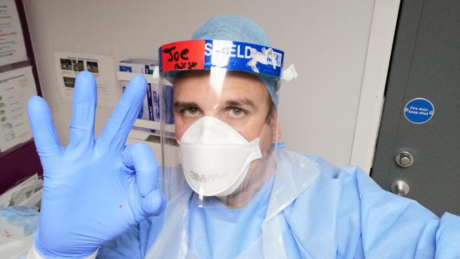 Joan Pons, enfermero en Reino Unido y voluntario de la vacuna contra el coronavirus de Oxford.