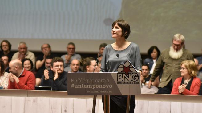 Ana Pontón junto a los miembros del Consello Nacional