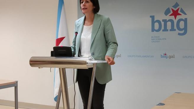 Ana Pontón, líder del BNG.