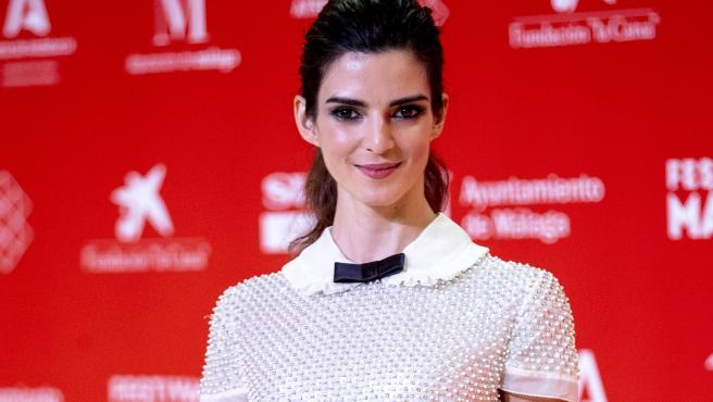 La actriz Clara Lago, en el Festival de Málaga (agosto de 2020).
