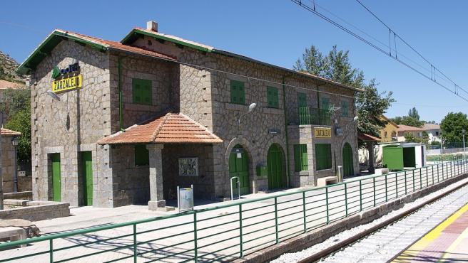 La estación de Zarzalejo, en Madrid, en una imagen de archivo.