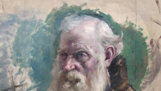 Obra de José Bermudo Mateos que se puede ver en el Museo Casa Pedrilla de Cáceres