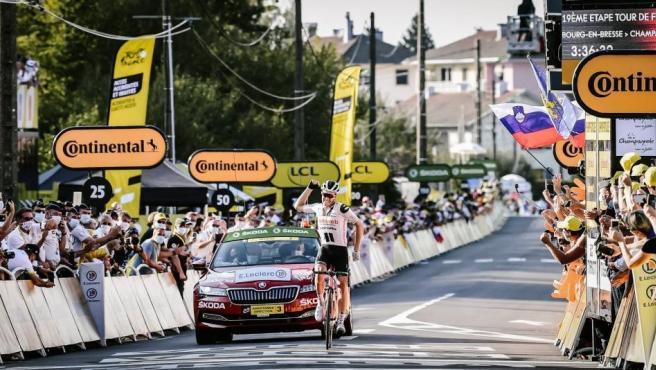 Soren Kragh Andersen (Sunweb), ganador de la etapa 19 del Tour de Francia 2020