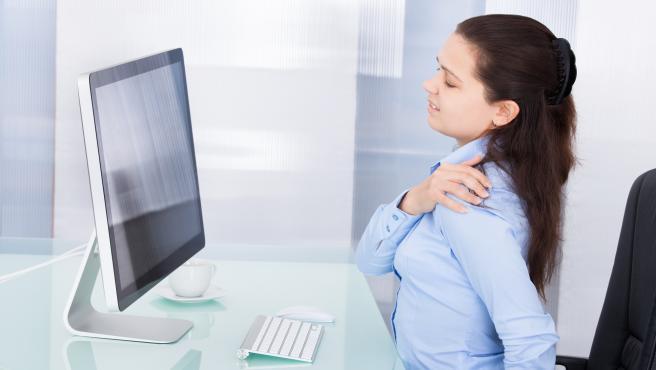 Teletrabajo y dolor de espalda