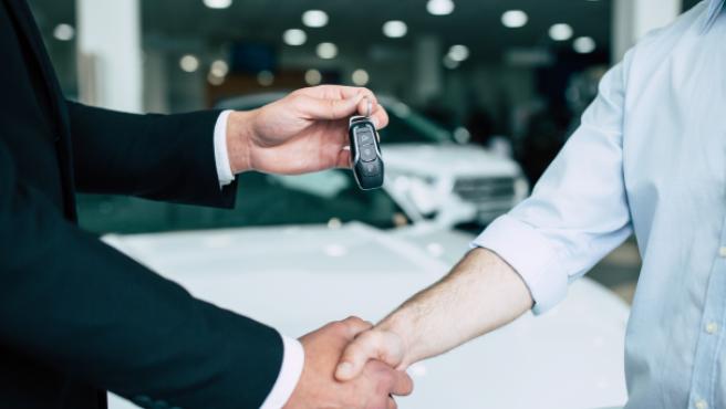 Representación de la compraventa de un coche.