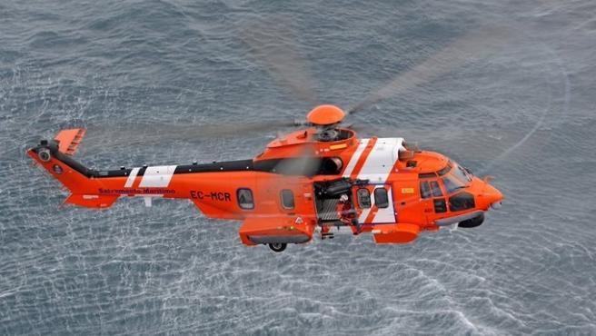 Imagen de archivo de un helicóptero Helimer 401.