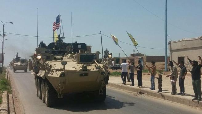 Siria.- EEUU despliega vehículos militares en Siria a pesar de que Trump asegura