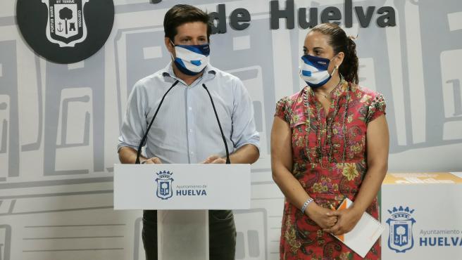 El portavoz del Grupo Municipal de Ciudadanos en el Ayuntamiento de Huelva, Guillermo García de Longoria,