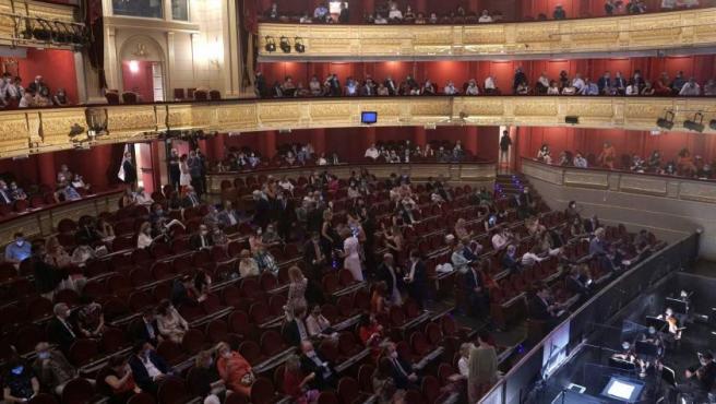 El Teatro Real de Madrid se lanzó a hacer el primer espectáculo en tiempos de covid-19
