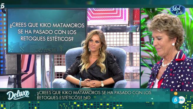 Marta López y Conchita, en 'Sábado Deluxe'.