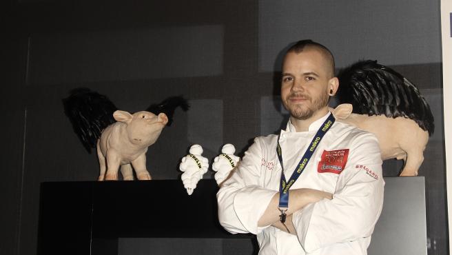 El cocinero David Muñoz, del Restaurante DiverXo.