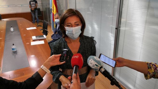 La conselleira de Vivenda, Ángeles Vázquez