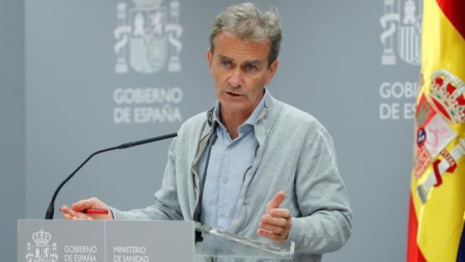 El director del Centro de Alertas Sanitarias, Fernando Simón.