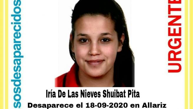 Joven desaparecida en Allariz (Ourense)
