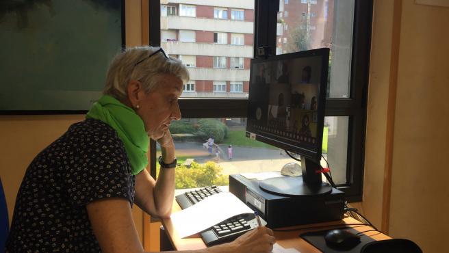 La consejera de Educación del Gobierno asturiano, Carmen Suárez