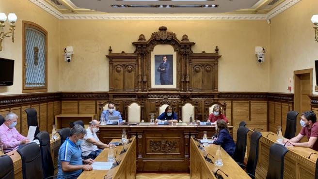 Reunión de la Junta de Gobierno local de Gijón