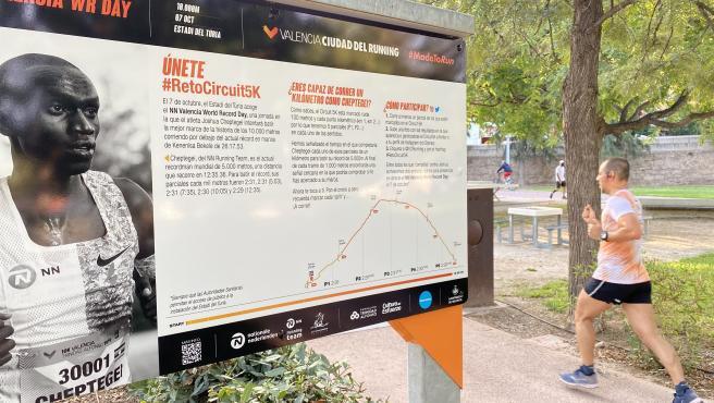 Valencia Ciudad del Running reta a todos a correr a la velocidad de Joshua Cheptegei