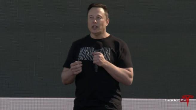 Elon Musk en el 2020 Annual Shareholder Meeting and Battery Day.