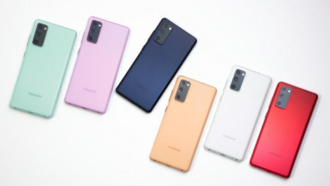 El Samsung Galaxy FE (Fan Edition) viene en seis colores