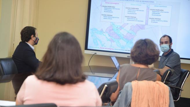 Investigadores de la UPCT abordan la problemática de las inundaciones en el Mar Menor