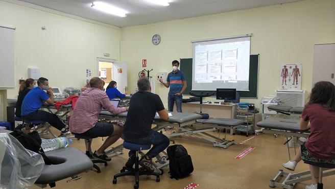 La Universidad Católica de Ávila ha comenzado las clases de la primera edición del Máster Universitario en Terapia Manual del Sistema Musculoesquelético con 16 alumnos en modalidad presencial.