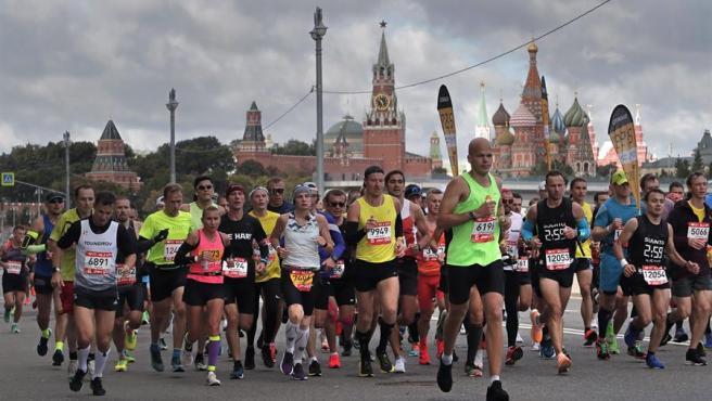 Maratón de Moscú