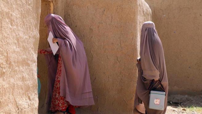 Mujeres en Afganistán.