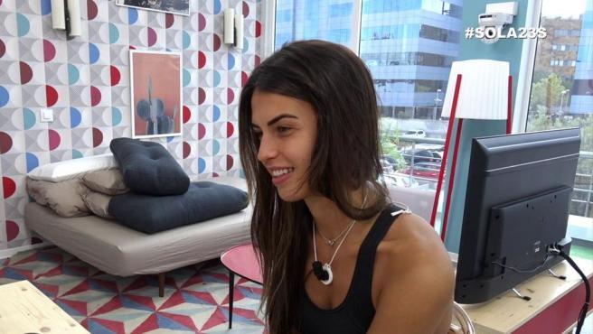 Sofía Suescun en el 'reality' de Mitele Plus 'Sola'.