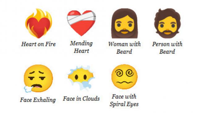 Tendremos estos nuevos siete emojis en 2021