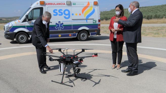 Vodafone España ha realizado el primer vuelo de un dron de emergencias equipado y controlado por la red 5G