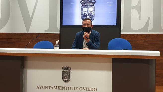 El concejal de Economía del Ayuntamiento de Oviedo, Javier Cuesta