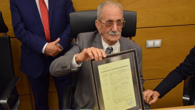 Homenaje Vicente García Riestra