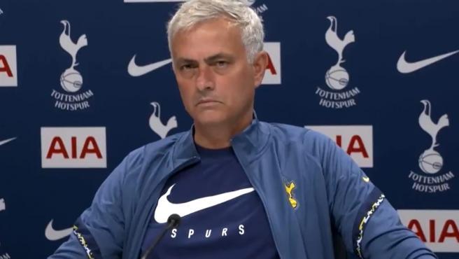 Jose Mourinho, durante una rueda de prensa.