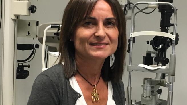 La oftalmóloga y especialista en Estrabismo de Povisa Inés Pérez coordina el estudio