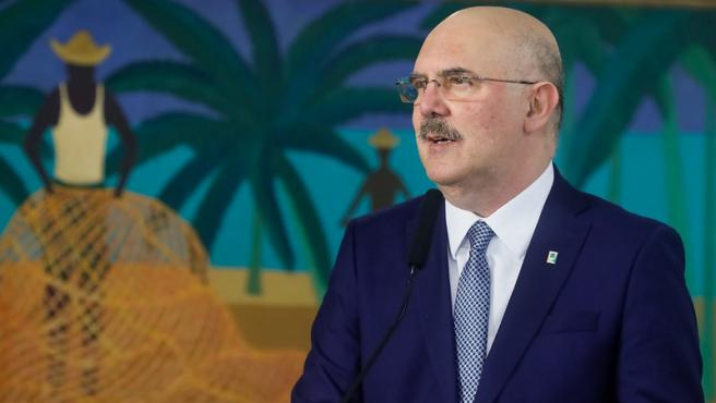 El ministro de Educación de Brasil, Milton Ribeiro, en una imagen de archivo.